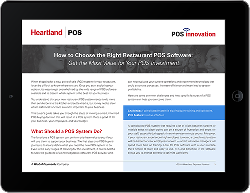 How to Choose the Right Restaurant POS Software | POS Innovation