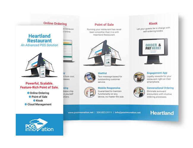 heartland restaurant brochure