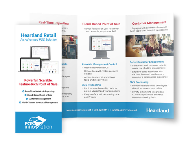 heartland retail brochure
